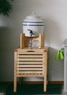 Montessori Inspired Kitchen — water source at child level.