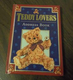 Address Book for Teddy Lovers. via Etsy.