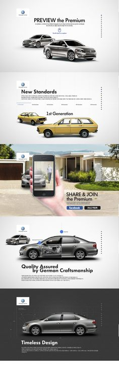Cool Automotive Web Design on the Internet. Volkswagen. #automotive #webdesign @ http://www.pinterest.com/alfredchong/automotive-web-design/