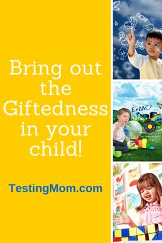 I'd like to invite you to a webinar: How to bring out the giftedness in your child! Simply register to save your seat. Just for attending the webinar, you'll receive a copy of our e-book The Testing Survival Guide or Kindergarten Readiness Survival Guide