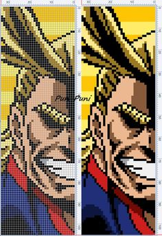 Схемы от Pun-Puni - Mine Minecraft World Pixel Art Spiderman, Pixel Art Star Wars, Pixel Art Grid, Pixel Art Pikachu, Anime Pixel Art, Art Pokemon, Diy Perler Beads, Perler Bead Art, Pixel Pattern