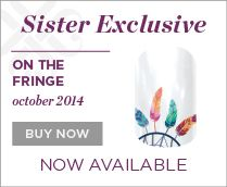 """October's Sister's Style Exclusive is a """"There's More"""" design.  Click to see the rest!  Only available in October."""