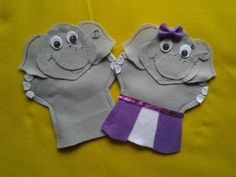 Elephant girl and boy  PUPPET by puppetmaker on Etsy, $9.99 you can find these on lisapuppetmaker.com Puppets For Sale, Thomas The Train, Hand Puppets, Iron Man, Spiderman, Elephant, Superhero, Boys, Handmade Gifts