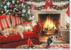 Christmas Card - Hope you settle in for the coziest Christmas ever | Richard…