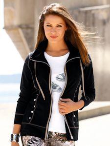Sweatjas, Julietta Athletic, Zip, How To Make, Sweaters, Recipes, Jackets, Fashion, Down Jackets, Moda