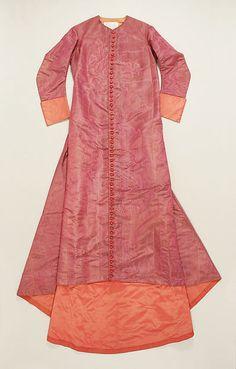 Cassock (image 1) | Italian | 1740 | silk | Metropolitan Museum of Art | Accession Number: 1982.275a, b | Property of Cardinal Carlo Bandini