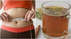 The main benefit of this homemade weight loss tea is to reduce your waistline and abdomen. Since it promotes detox, however, it can generally contribute to fat loss from any part of your body. Weight Loss Tea, Weight Gain, Ways To Lose Weight, Cellulite, Fett, Fat Burning, Fitness Motivation, Gym Shorts Womens, Nutrition