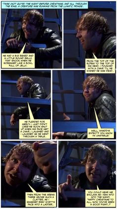 Poetry Corner with Dean Ambrose: Special TLC edition.. - Jen J
