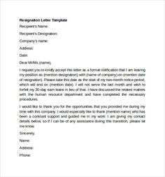 Polite resignation letter bestdealformoneywriting a letter of image result for resignation letter examples spiritdancerdesigns Image collections