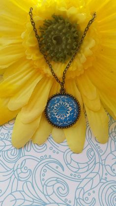 spring yellows and blues by michelle graves on Etsy