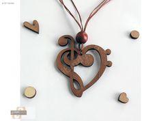 AHŞAP BAYAN KOLYE KALPLİ SOL ANAHTAR - Bijuteri Kolye modelleri ve Bayan takı mücevher çeşitleri sahibinden.com'da - 167149366
