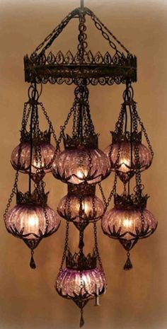 Magnific Lighting Manufacturers, Gothic House, My New Room, Bohemian Decor, Lamp Light, Light Fixtures, Mosaic, House Design, Ceiling Lights