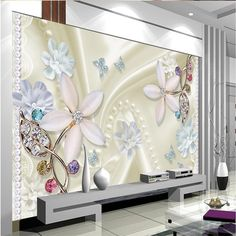 16.06$  Buy now - http://alij2o.shopchina.info/go.php?t=32770301756 -  Beibehang Customize any size wallpaper background butterfly crystal diamond 3D living room mural wallpaper for walls 3 d 16.06$ #buychinaproducts