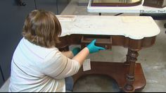 History Colorado Center is bringing a new item from the archives to feature on exhibit each week. This week it's a dressing table that belonged to a famous author. Robert Louis Stevenson, Dressing Table, Colorado, Author, Display, History, Floor Space, Aspen Colorado, Historia