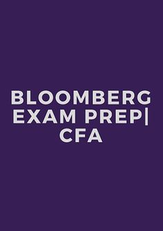 Bloomberg is a well known financial software brand, especially the FOREX platform. It is well known for its extensive and colorful terminals. Bloomberg is now extending its brand to CFA education with a new online learning platform.  Online learning could be daunting for most people as they mainly prefer the paper and pencil approach. But take a look at the features offered by Bloomberg CFA Exam Prep and I assure you, you are bound to change your view about studying online.