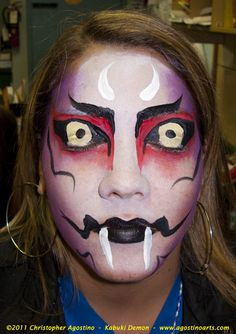 Halloween Face Painting | Halloween Face Painting — Halloween Night: NYC Parks and Recreation ...