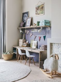 We all know how difficult it is to decorate a kids bedroom. A special place for any type of kid, this Shop The Look will get you all the kid's bedroom decor ide Cool Kids Bedrooms, Kids Bedroom Designs, Kids Room Design, Trendy Bedroom, Girls Bedroom, Casual Bedroom, Design Desk, Design Girl, Room Kids
