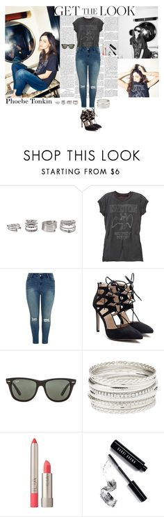 """""""Get the (Aussie) Look: Phoebe Tonkin"""" by plussizeextrafashion ❤ liked on Polyvore featuring Forever 21, New Look, Ray-Ban, Charlotte Russe, Ilia, Bobbi Brown Cosmetics, GetTheLook, aussie, PhoebeTonkin and plussizeextrafashion"""