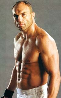 Randy Couture. Enough said.... Well actually, I could go on and on....