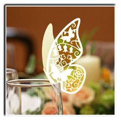 Laser Cut Butterfly Place Card Ivory x Pack of 10 , http://www.amazon.co.uk/dp/0781379644/ref=cm_sw_r_pi_dp_Z0pqrb1B36M73