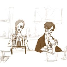 Sherlolly in the lab (because there's no food allowed in the morgue)