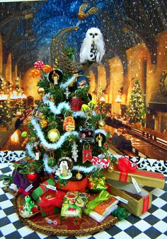 Harry potter first christmas gift at hogwarts