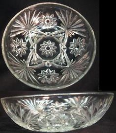 ANCHOR HOCKING  PRESCUT OATMEAL PATTERN BOWL $6.99 H