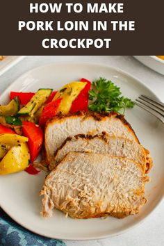 Have you wondered How to Cook Pork Loin in the Slow Cooker? It is so easy to do and creates a tender, flavorful piece of pork. This recipe uses a homemade rub with warm, rich spices. This is a recipe that your family will love! // acedarspoon.com #pork #porkloin #crockpot #slowcooker