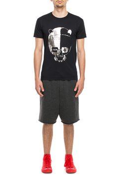 www.darktony.com Panda printed t-shirt black 22.84€