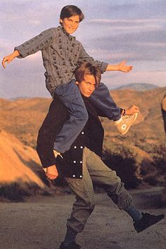 "river phoenix family | RecallsIris Burton, ""River used to say to me, 'Joaquin's better than ..."