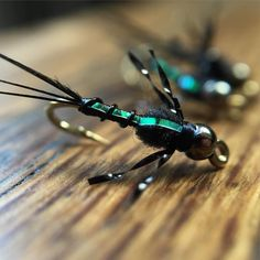 Friday's Fly: Hogan Brown's Military Mayfly. This black beauty kills it on my favorite Northern California river.  #FridaysFly  #FindYourWater #FlyTyingAddict
