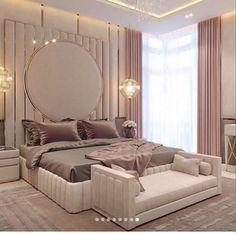 Modern Luxury Bedroom, Luxury Bedroom Design, Master Bedroom Interior, Room Design Bedroom, Bedroom Furniture Design, Home Room Design, Luxurious Bedrooms, Home Interior, Home Decor Bedroom