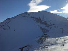 Caucasus. Karachay-Cherkessia. Dombay. Cable car to the summit of Mount Musa Achitara 3000 meters 3200 meters.