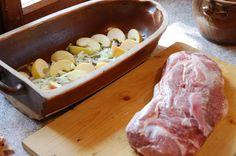 Vepřová krkovice - recept Pork, Food And Drink, Kebabs, Meat, Kale Stir Fry, Beef, Kabobs, Pork Chops, Kabob