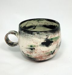 Olia Lamar Aaron's cup earthenware  beautiful balence