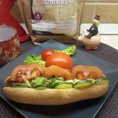 Szafi Free élesztőmentes hotdog kifli Hot Dogs, Free, Vegan, Ethnic Recipes, Vegans