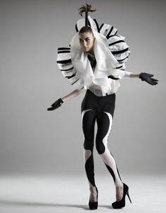 avant garde jacket by iimuahii