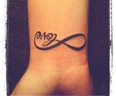 06e20d2ac Infinity Love Tattoo, Infinity Heart, Infinity Symbol, Side Tattoos,