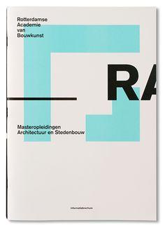 Rotterdamse Academie van Bouwkunst by Studio Beige , via Behance