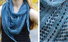 Make This Light And Breezy Knit Pacific Lace Shawl