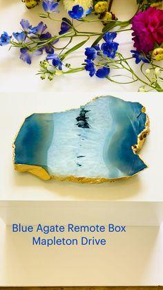 Agate, Remote, Blue, Home Decor, Decoration Home, Room Decor, Agates, Home Interior Design, Home Decoration