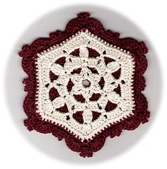 Anemone_crochet-a-long_coaster_small2...A gorgeous pattern! Love it;and won't it look pretty on my table!...free pattern!