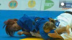 Galbadrakh y Hashiguchi estrenan su palmarés en el Gran Premio de Judo de Astaná