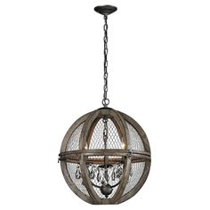 Buy the Dimond Home Aged Wood / Bronze / Clear Crystal Direct. Shop for the Dimond Home Aged Wood / Bronze / Clear Crystal Renaissance 6 Light 1 Tier Globe Chandelier and save. Elk Lighting, Home Lighting, Pendant Lighting, Wire Chandelier, Chandelier Ceiling Lights, Small Chandeliers, Farmhouse Chandelier, Rustic Chandelier