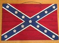 Southern Pride Rebel Flag by RusticCharmDecors on Etsy