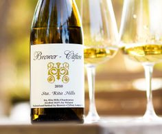 2010 Brewer-Clifton Santa Rita Hills Chardonnay Santa Barbara County, Wines, Alcohol, Bottle, Liquor, Flask, Jars