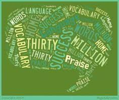 Image result for 30 million word gap visual
