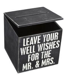 'Mr. & Mrs.' Wedding Cards Box.
