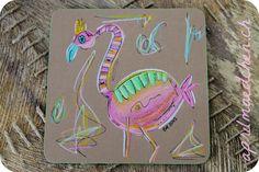 flamingo Flamingo, Office Supplies, Draw, Ideas, Flamingo Bird, Flamingos, Greater Flamingo