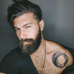 1000+ images about Hipster, beard and other vices! on Pinterest   Beards, Beard tattoo and Levi jackson (Franggy Yanez)